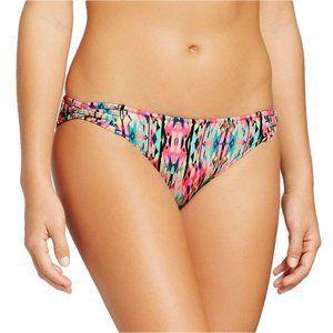 NWT Shade & Shore Bikini Bottom Bright Multi XS